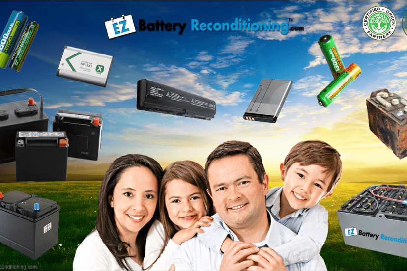 Go Green With EZ Battery Reconditioning